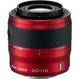 Nikon 1 30-110mm f/3.8-5.6 VR Nikkor Lens (Red) - Factory Refurbished includes Full 1 Year Warranty